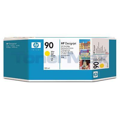 HP DESIGNJET 4000 NO 90 INK YELLOW 225ML